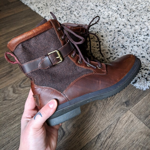 1a4a1b8c050 UGG Kesey Boot in Chestnut Brown Size 6